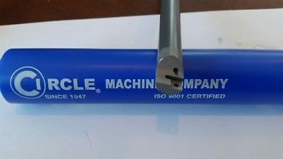 "Circle Machine Carbide Boring Bar. 8.0"" OAL. 1/2"" sh.  Min. Bore .545""  thread"