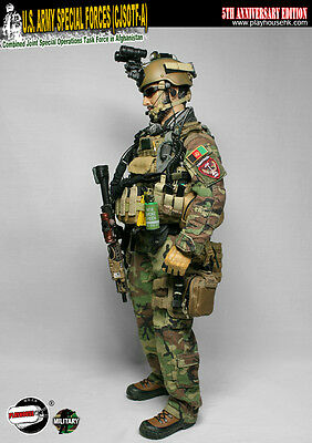 """Playhouse 1/6 Scale 12"""" 5th Anniversary US Army Special Forces Afghanistan PH014"""