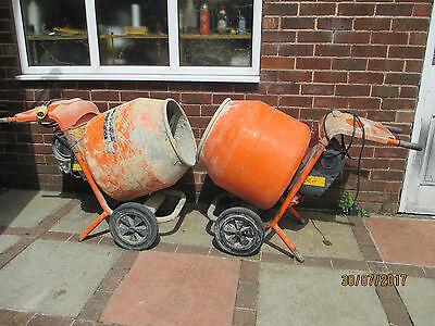 Belle mixer Electric new or old drum cement concrete 240V 110V