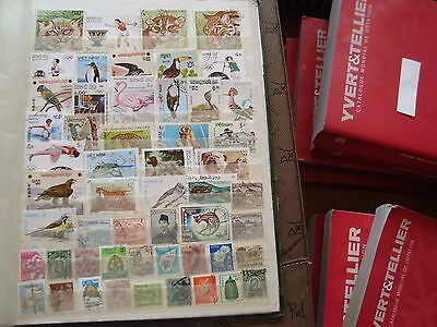 ASIE - 52 stamps canceled (all state) stamp
