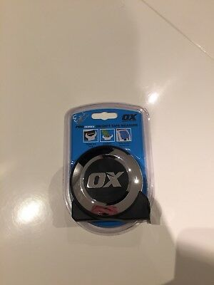 8m OX Tape Measure