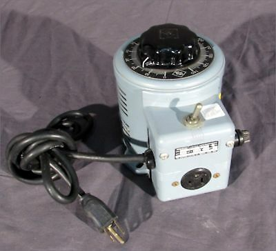 Powerstat 3Pn116B 120V 0-140V Variac/variable Transformer