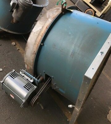 Binks Paint Booth Large Radial Exhaust Fan 10HP 30-4228