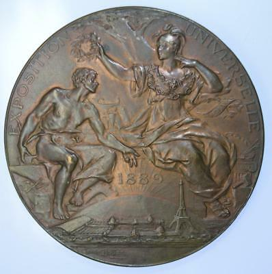 France - 1889 Exposition Universelle medal awarded to Solomon