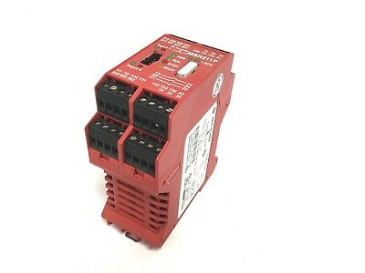 Allen Bradley MSR211P GuardMaster Safety Relay Voltage: 24VDC, Power: 8W