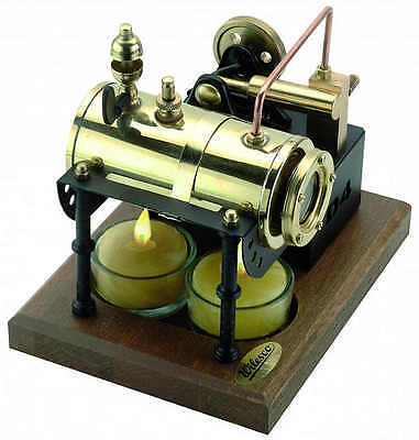 WILESCO D4 Toy Steam Engine fired by candles - NEW 2016 + Made in Germany