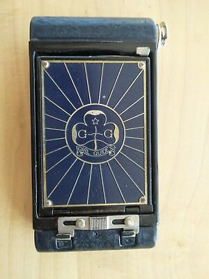 Kodak Girl Guide Folding Camera (UK version of Boy/Girl Scout) + original case