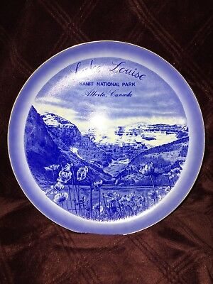 Lake Louise Banff National Park~ Decorative plate COLLECTABLE