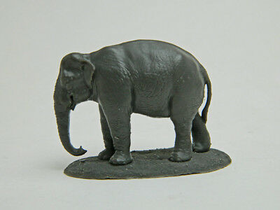 Asian Elephant 1/72 scale resin model, free shipping in USA