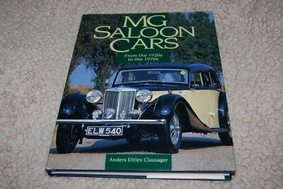 MG Saloon Cars - From the 1920s to the 1970s by Anders Clausager 1999, Hardcover