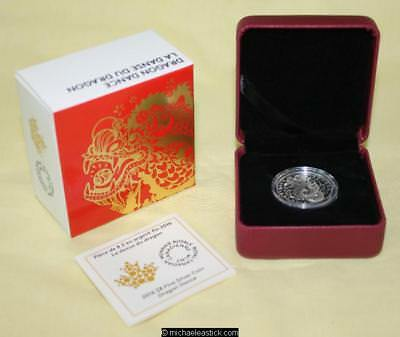 2016 Canada $8 Silver Proof Coin - Dragon Dance