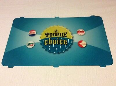 Large Pepsi Soda Fountain Sign Front