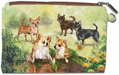 Chihuahua Zipper Pouch New