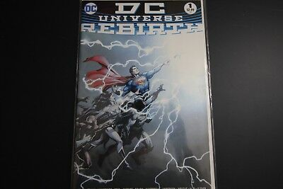 DC Universe Rebirth #1 First Print Bagged and Board Great Condition