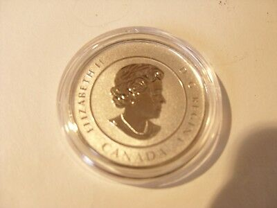 Rare Canadian $20.00 Silver Coin 2016 Hockey Coin In Capsual