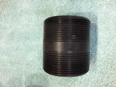 """2"""" Inch Threaded Poly Nipple ( LOT OF 2)"""