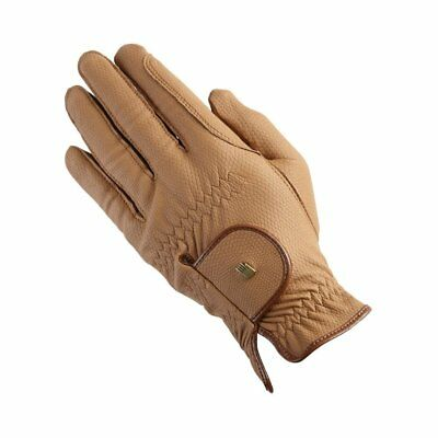 Roeckl Chester Unisex Gloves Competition Glove - Caramel All Sizes