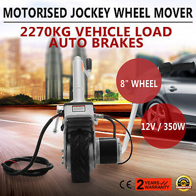 12V Electric Mini Mover Jockey Wheel Caravan Boat Trailer Camper 350W