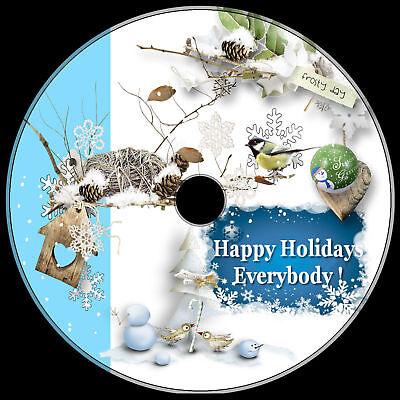 1000+ GREAT clip art CD ROYALTY-FREE .png & vector WINTER, CHRISTMAS