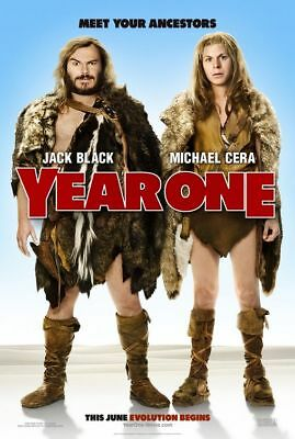YEAR ONE great original adv 27x40 D/S movie poster (s01)