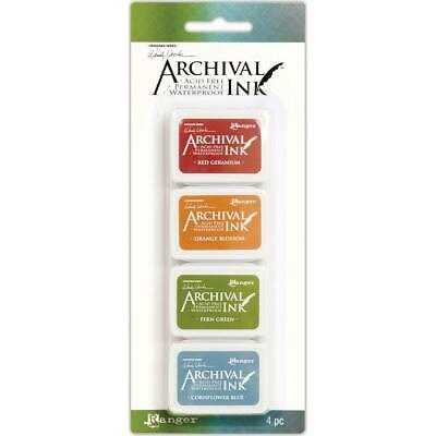 Ranger Mini Archival Ink Pad Set Kit #4 Wendy Vecchi