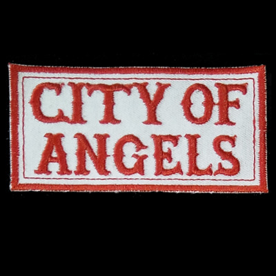 Hells Angels Support Aufnäher  CITY OF ANGELS  Original 81 Support Patch