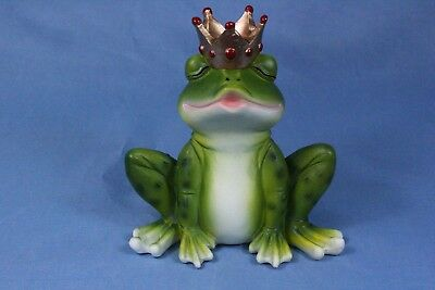 Frog Statue Frog Figurine Frog Prince Statue Kiss a lot of Frogs New