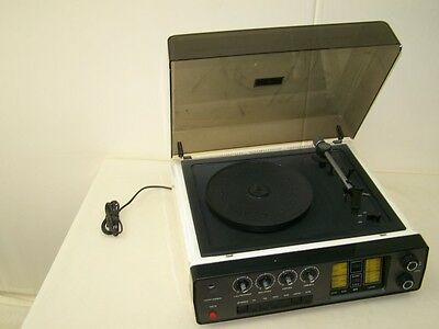 Old DDR Record Player Set 4001 Robotron Radio Amplifier Tuner Record Player
