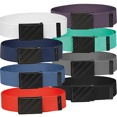 Adidas Golf 2018 3-Stripes Mens Webbing Performance Belt