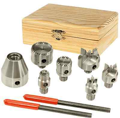 7pc Set of Drive Centres  M33 x 3.5 mm Thread 51209S03 For Wood Turning Lathe