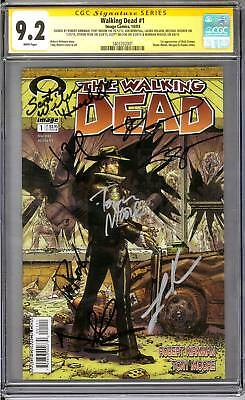 Walking Dead #1 CGC 9.2 Signature Series (W) Reedus, Bernthal, Rooker, and more!