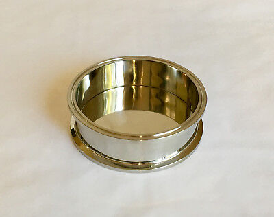 "6"" Stainless Steel Shatter Platter for a Closed Loop Extractor 6"" x 2"" Splatter"