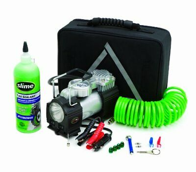 Slime 50063 Truck Spair Kit with Slime Sealant and Slime Inflator