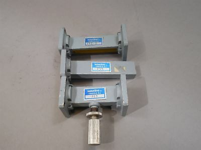 Lot of 3 Waveline WR62 Waveguide, Attenuator, Termination WR-62