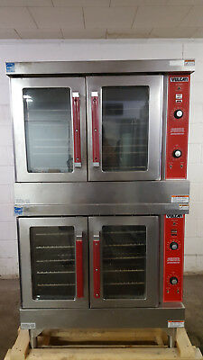 Vulcan Natural Gas VC4GD-10 Double Stack Convection Ovens Tested