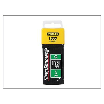 Stanley Tools TRA7 Heavy-Duty Staple 12mm TRA708T Pack 1000