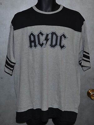 AC/DC Jersey - XLarge - Front AC/DC - Back 74 - Short Sleeve