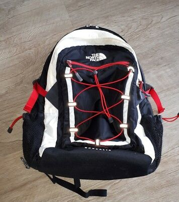 The North Face Borealis Classic Rucksack 50 cm Schwarz Weis Rot