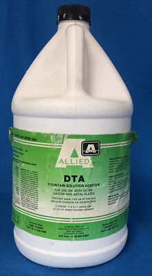 Allied Dta Fountain Solution Additive For Silver Master And Metal Plates 1 Gal