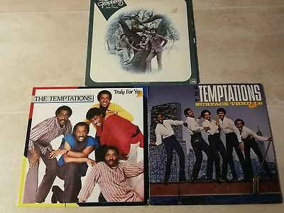 3 LP Vinyl Sammlung The Temptations All Directions Surface Thrills Truly For You