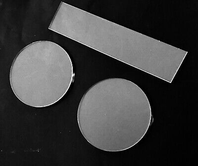 Ganache Icing Cake Decorating Plate, Disk, Boards In Acrylic (2 DISKS + SCRAPER)