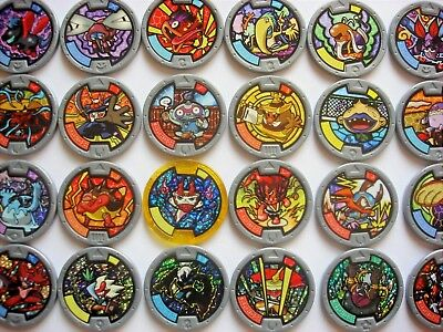 Yokai Yo Kai Medals Series 4 - CHOOSE - max 90p UK P&P - RARE