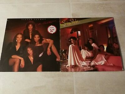 2 LPs Vinyl Sammlung Sister Sledge We Are Family The Sisters