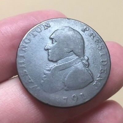 1791 Washington cent large eagle type - private pattern for large cent