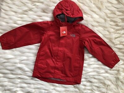 TODDLER BOYS: The North Face Quinn Rain Shell Jacket, Red - Size 4T