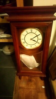 Seiko Wall Clock Westminster Whittington 27 Inches High Battery Operated