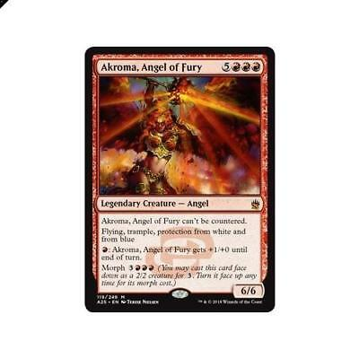 Magic The Gathering MTG Akroma, Angel of Fury 119/249 Masters 25 Singles