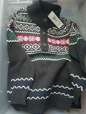 Boys Ornate Sweater by Peek New with tags Size 10