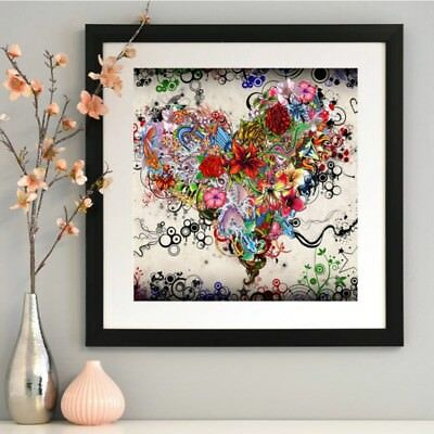 AU Butterfly/Flower 5D Diamond Embroidery Painting DIY Craft Kits Home Decor
