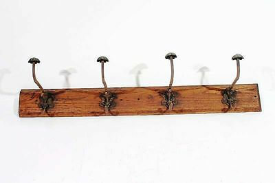 Antique Wardrobe Hangers Wall Coat Hook Rail kleiderleiste Cult Retro
